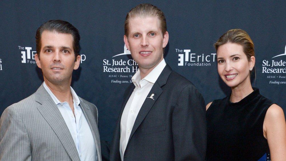 Donald Trump Jr., Eric Trump, and Ivanka Trump at the 9th Annual Eric Trump Foundation Golf Invitational Auction & Dinner