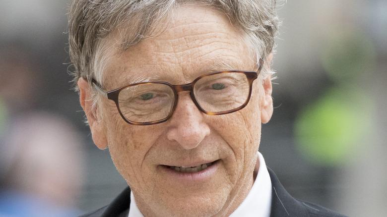 Bill Gates at an event