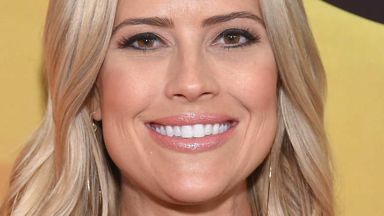 Christina Anstead smiling at an event