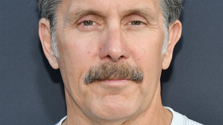 Gary Cole posing mustache