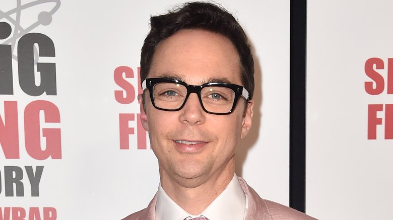 """Jim Parsons, who plays Sheldon Cooper, at the series finale premiere of """"The Big Bang Theory"""""""