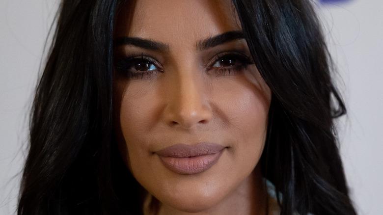 Kim Kardashian serious