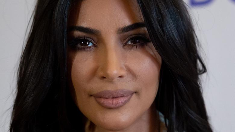 Kim Kardashian West posing