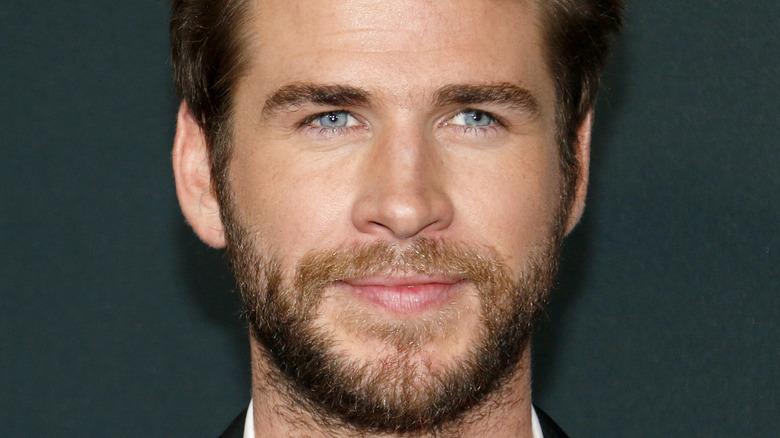 Liam Hemsworth on red carpet