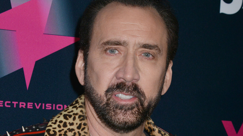Nicolas Cage at special screening of Color Out Of Space in 2020.