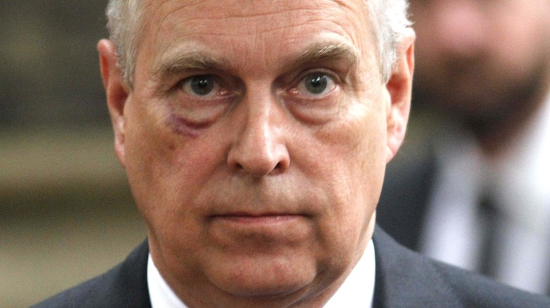 Prince Andrew at a royal engagement