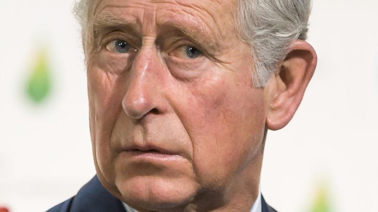 Prince Charles looking worried