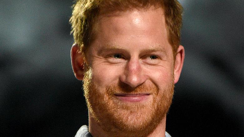 Prince Harry smile