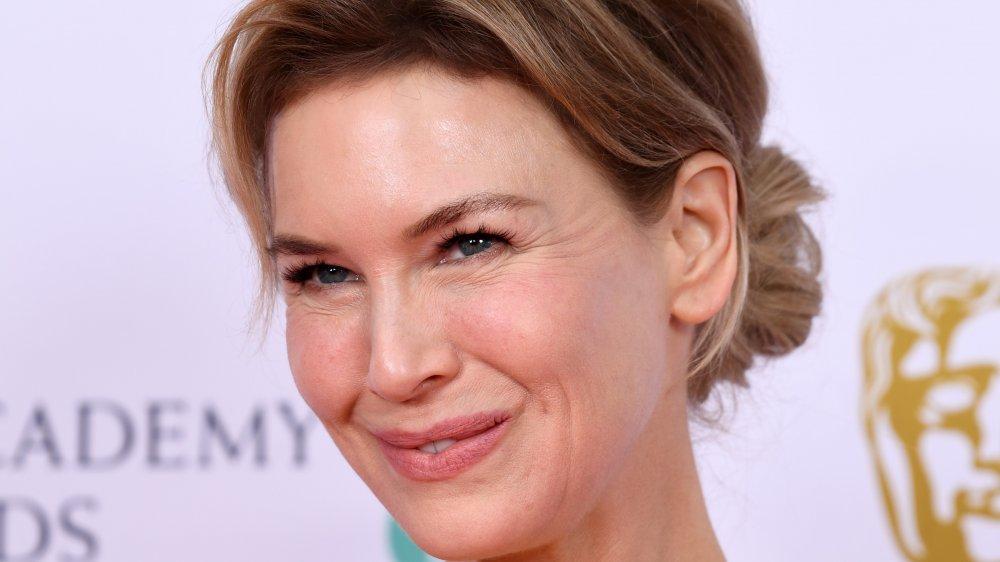 Renée Zellweger attends the BAFTAs