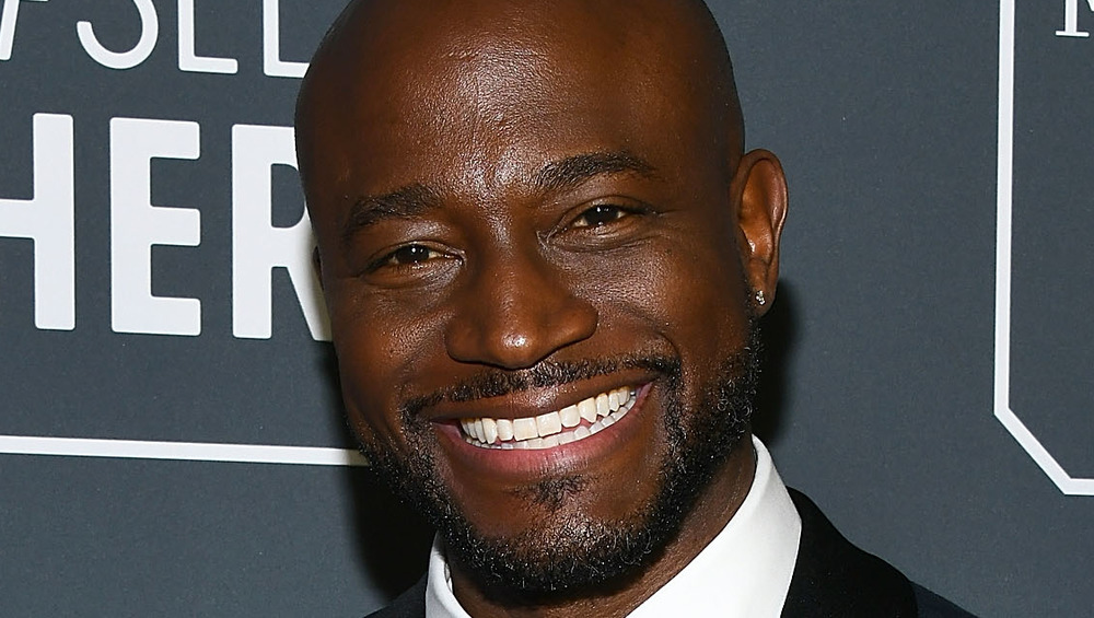 Taye Diggs attending awards ceremony