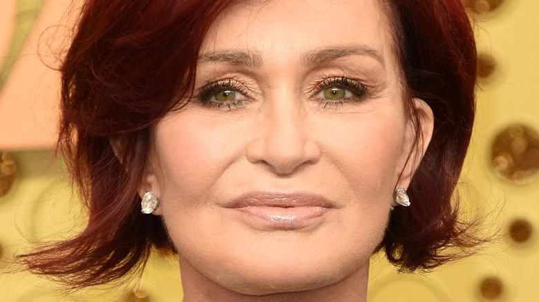 Sharon Osbourne smiles in 2019