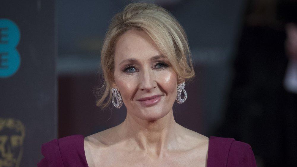 J.K. Rowling at the 70th BAFTAs
