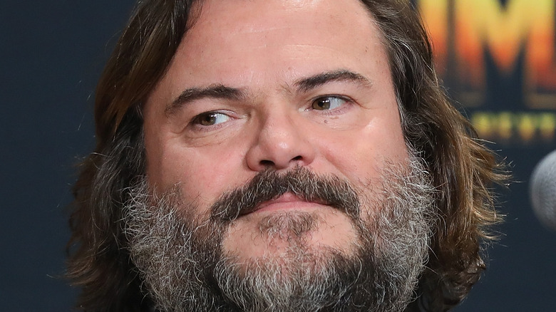 Jack Black at an event