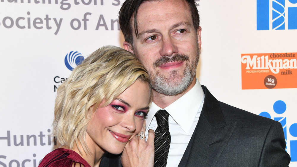 Jaime King and Kyle Newman, red carpet