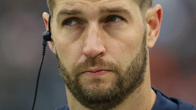 Jay Cutler with a neutral expression