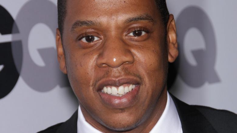 Jay Z smiling 2011