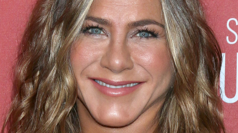 Jennifer Aniston smiling