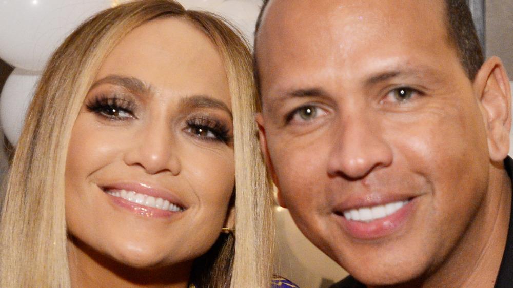 Jennifer Lopez and Alex Rodriguez at the MTV Vanguard awards 2018