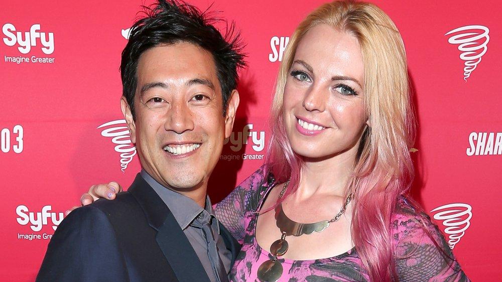 Grant Imahara and Jennifer Newman