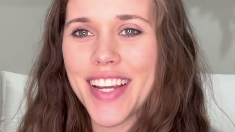 Jessa Duggar Seewald speaking in pregnancy update video