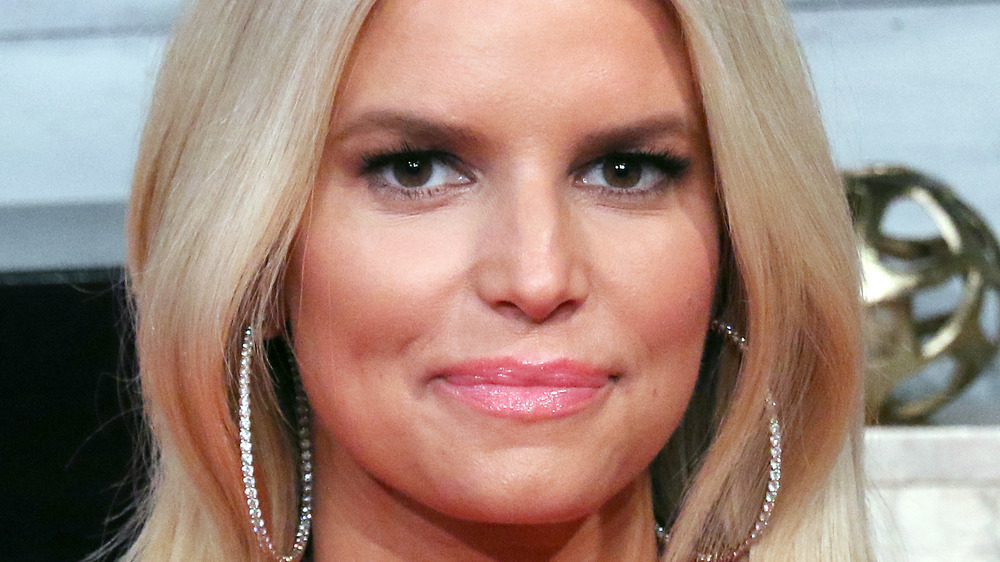 Jessica Simpson smiling for the camera