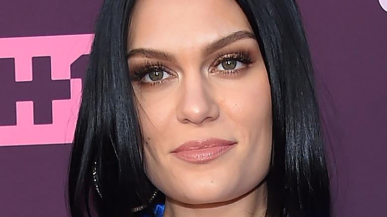 Jessie J gazing in front