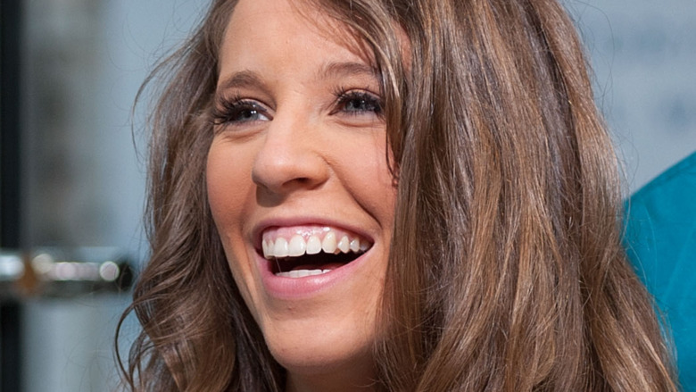 Jill Duggar smiling in interview