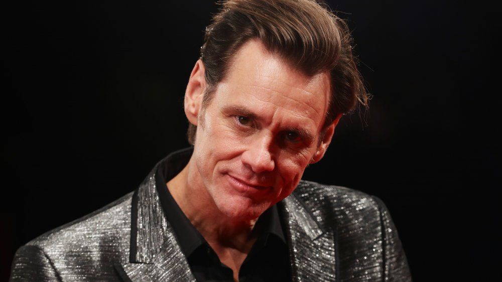 Jim Carrey at the premiere of Jim & Andy: The Great Beyond