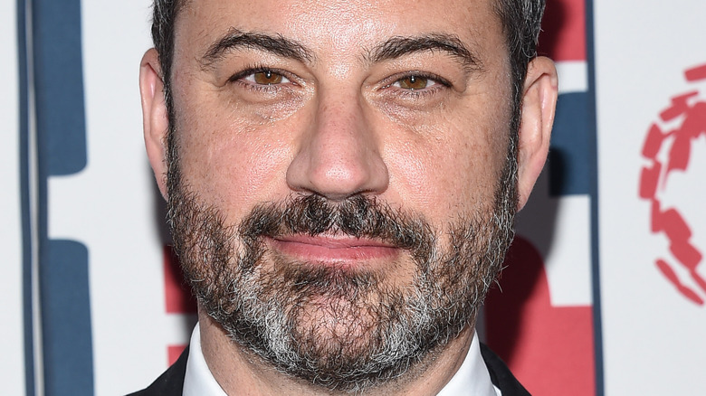 Jimmy Kimmel smiling at an event