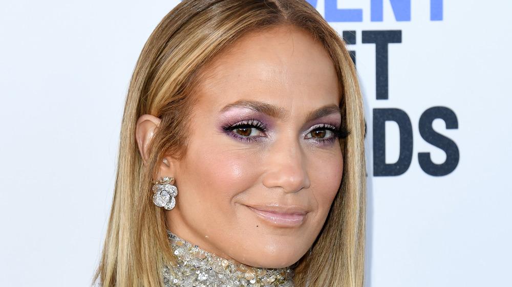 Jennifer Lopez at the 2020 Spirit Awards