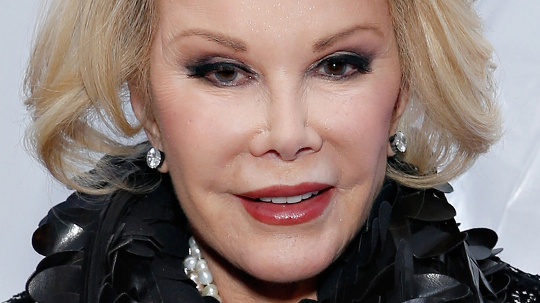 Joan Rivers at event