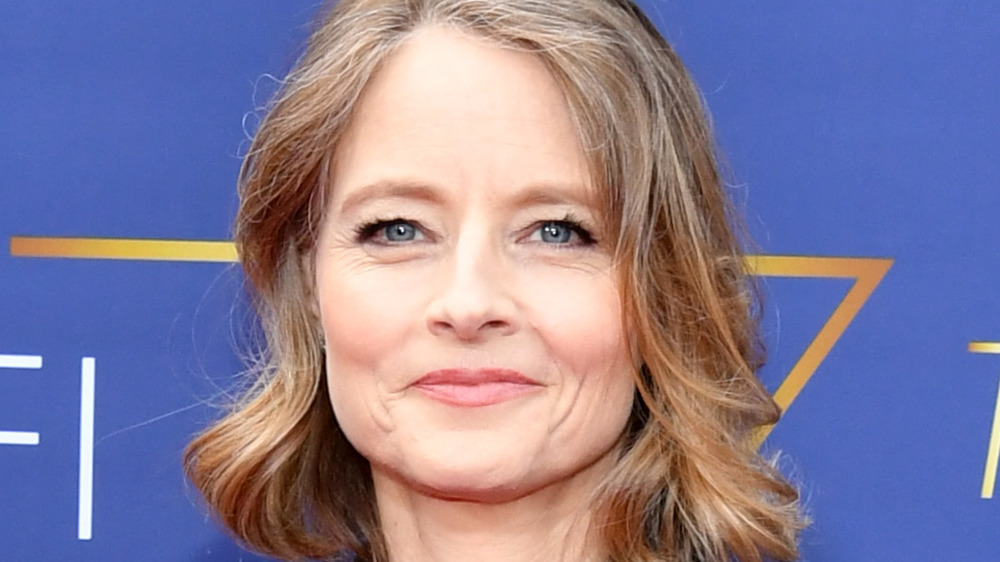 Jodie Foster poses at a 2019 event