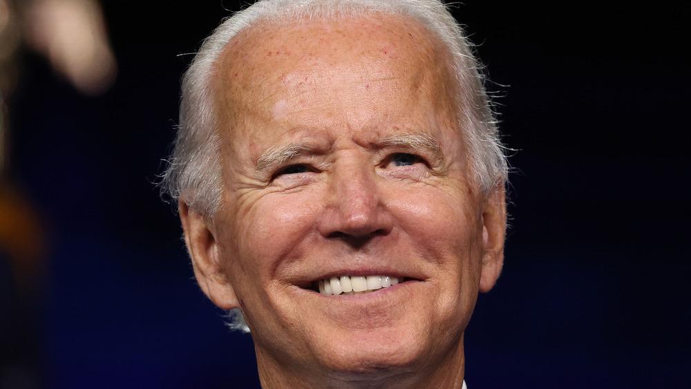 Joe Biden cracks a smile on the campaign trail