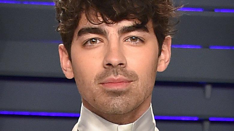 Joe Jonas at the 2019 Vanity Fair Oscars party