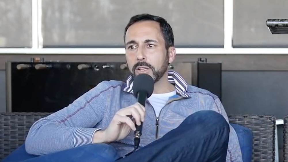 Joe Tessitore speaking