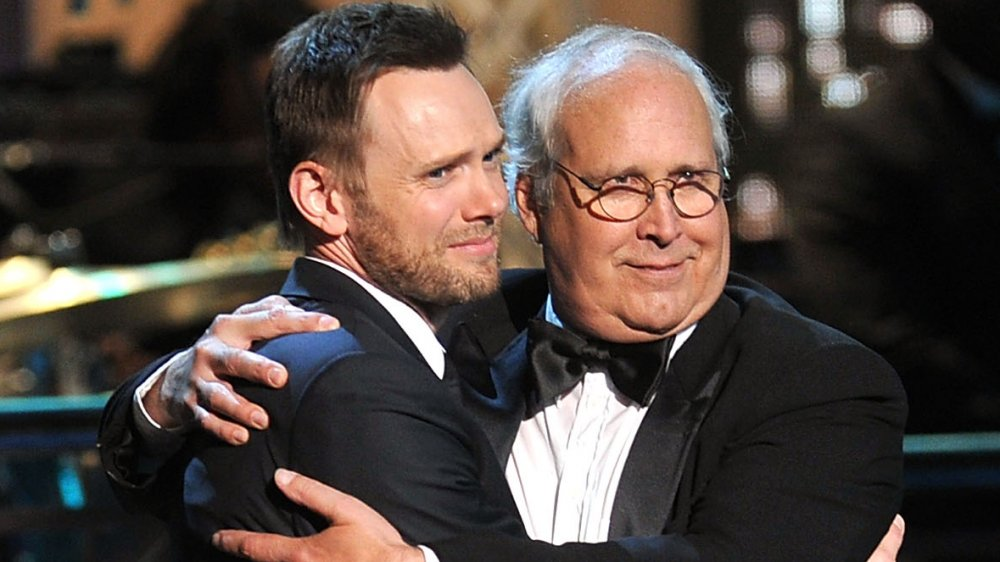 Joel McHale, Chevy Chase