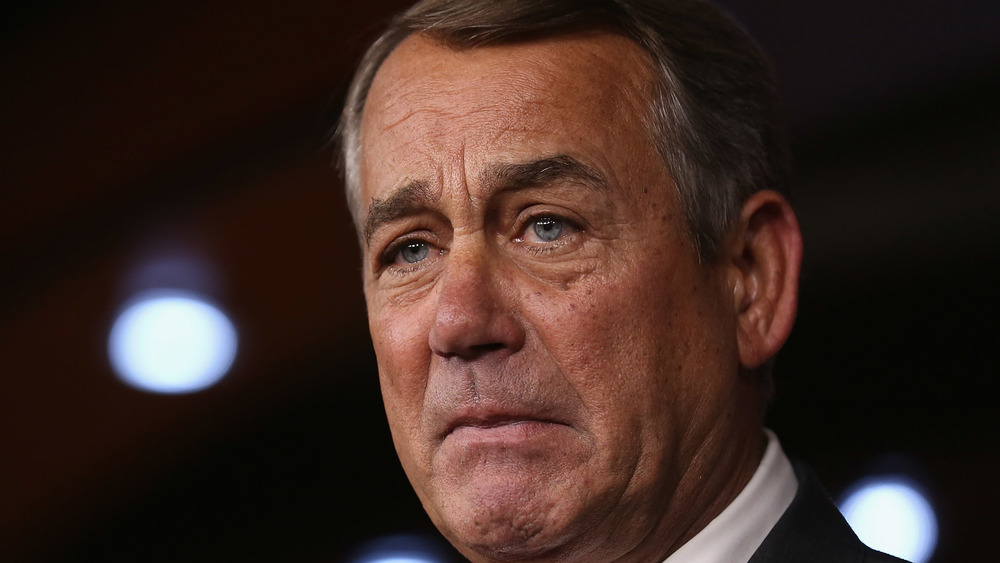 Speaker of the House John Boehner (R-OH) announces that he is retiring from the House and stepping down as Speaker at the end of October during a news conference at the U.S. Capitol September 25, 2015 in Washington, DC.
