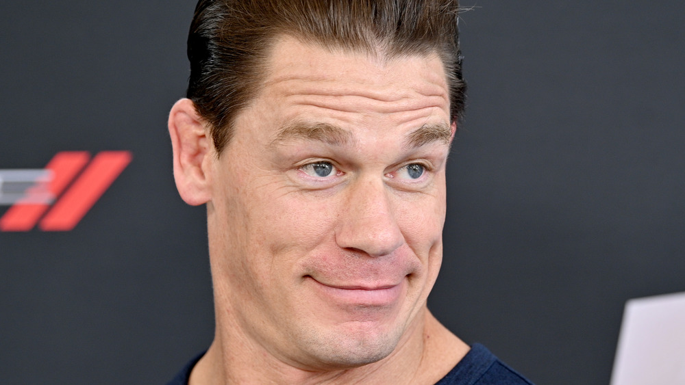 """John Cena attending """"The Road to F9"""" in 2020"""