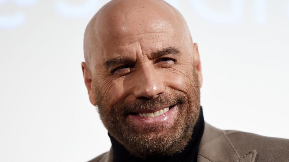 John Travolta smiling