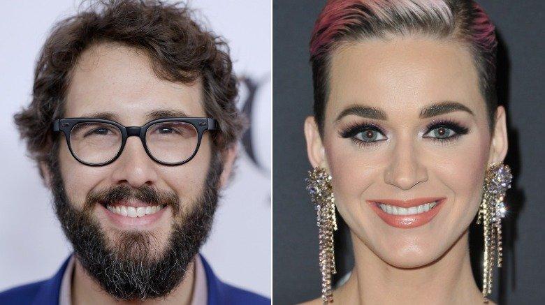 Josh Groban and Katy Perry