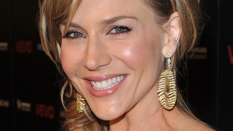 Julie Benz smiling