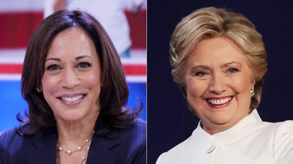 Kamala Harris, Hillary Clinton