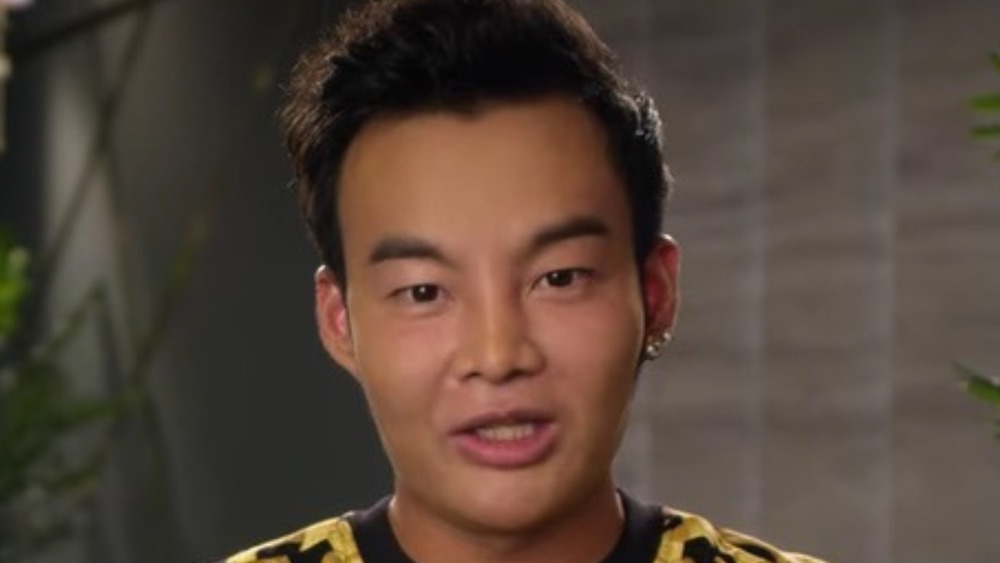Kane Lim in a confessional