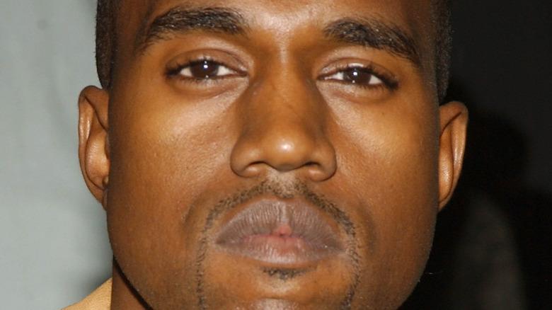 Kanye West goatee