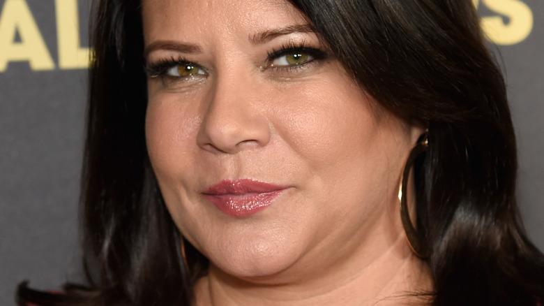 Karen Gravano smirking