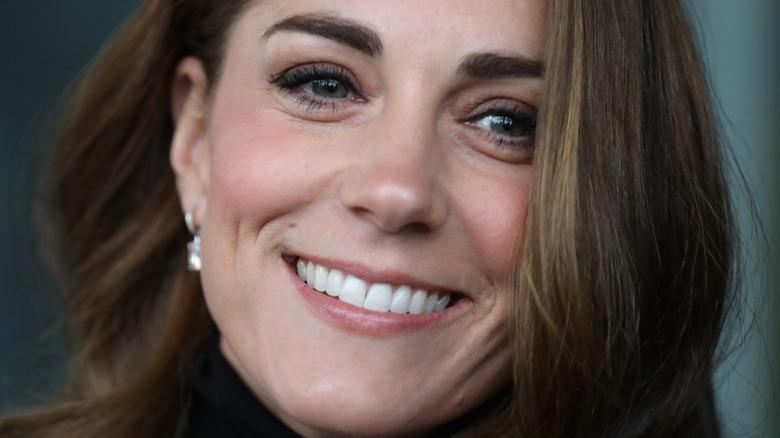 Kate Middleton smiling