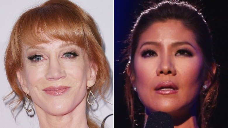 Kathy Griffin and Julie Chen