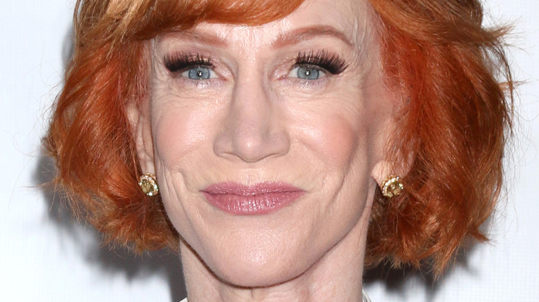 Kathy Griffin smiling