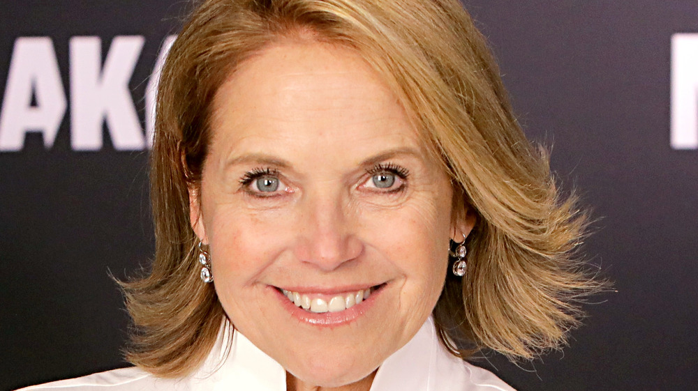 Katie Couric smiles in 2020