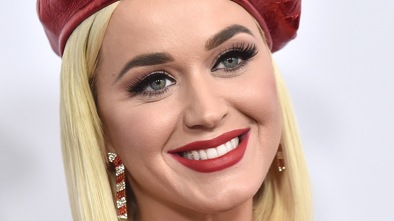 Katy Perry smiling